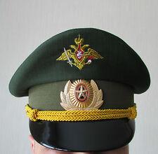 Genuine Russian Army Headquarters Officer Visor Cap Hat Uniform Original Rare