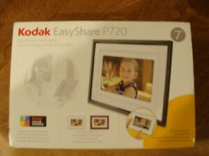 "Kodak EasyShare P720 7"" Digital Picture Frame BRAND NEW!  Open Box"