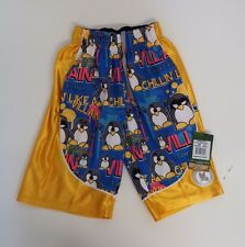 Youth X Small Penguin Dazzle Athletic Shorts Royal  Flow Society