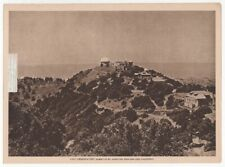 Lick Observatory Summit of Mt. Hamilton California 1917 Photogravure Print