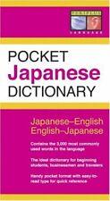 Pocket Japanese Dictionary