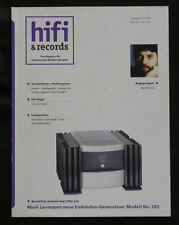 Hi-Fi & Records 1/199 Levinson 335 Altec Audionet Acoustic Signature b&w Nautilus