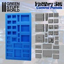 MOULES en Silicone - Panneaux de Contrôle -  miniature échelle résine GSW