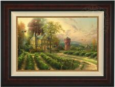 Thomas Kinkade Abundant Harvest 18 x 27 LE Gallery Proof Canvas (Burl Frame)