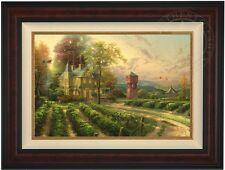 "Thomas Kinkade ABUNDANT HARVEST 18"" x 27"" LE Gallery Proof Canvas (Burl Frame)"