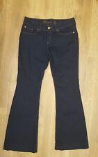 GAP Women's Premium Flare Denim Jeans blue size 8 navy denim cotton ladies 29r