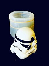 silicone storm trooper candle soap Resin Mold