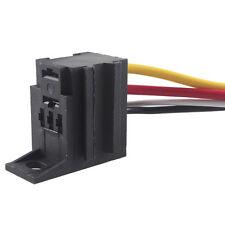 DIY Car Motor 12V 12 Volt 30A AMP Duty Relay Harness Socket 4Pin 4 Wire Sales