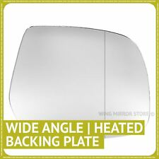 Right side for Ford Ranger 2007-2011 Wide Angle heated wing mirror glass + plate