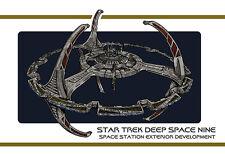 Star Trek Deep Space Nine DS9 Station Exterior Design Document