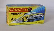 Repro Box Matchbox Superfast Nr.40 Guildsman 1