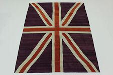 En Exclusivité Nomades Kelim Angleterre Fanion Persan Tapis D'orient 2,78 X 2,11