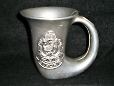 Strohs Horn Beer Stein with Bell Carson Statesmetal ?