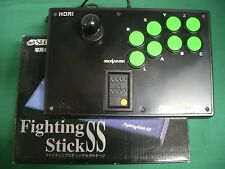 Sega Saturn - Fighting Stick SS Controller, Boxed - HSS-07. HORI.*JAPAN *15796-2