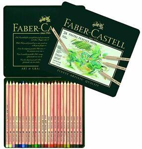 Faber-Castell Pitt Pastel Pencils 24 Pencils  **BRAND NEW FACTORY SEALED SALE**