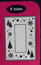 Crafts-Too/CTFD3036/C6/Embossing /Folder/Snow Frame/Tree/Snowflake/Christmas