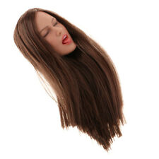 1/6 Scale Female Body Head Sculpt Model for Phicen 12'' Action Figure Doll B