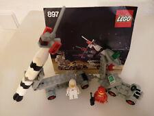 "LEGO SET 897 Classic Space Mobile Rakete ""Mobile Rocket Launcher"" mit Anleitung"