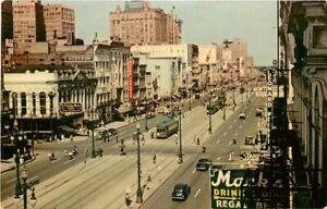 LA, New Orleans, Louisiana, Canal Street, H.S, Crocker No. JAO-6