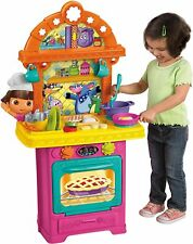 Fisher Price Dora the Explorer: Sizzling Surprises Talking Kitchen