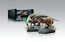 Jurassic World - Steelbook Premium Edition mit 2 Dinosaurier-Figuren # BLU-RAY