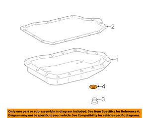 TOYOTA OEM Transaxle Parts-Drain Plug Gasket 9043012008