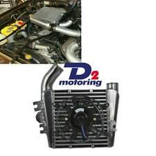 """Top Mount Intercooler For Nissan Patrol GU ZD30 DI 3.0 Turbo Diesel+7"""" Fan"""