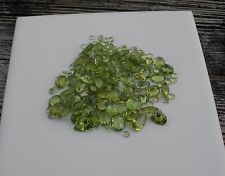 Peridot Natural Gem Mix Loose Faceted Parcel Lot over 100 carats