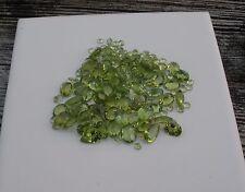 Peridot Natural Gem Mix Loose Faceted Parcel Lot over 100 carats