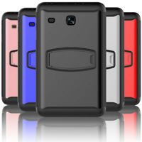 360 Full Protection Hybrid Rugged Rubber Case For Samsung Galaxy Tab E 8.0 T377