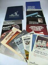 1989 Schrade Cutlery Imperial Knives Advertisements Price Guide 15 Piece LOT