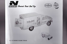Brink's Bank Truck Nylint  8x10 Glossy Photo #4170