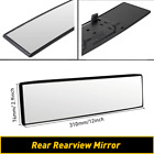 Widen Broadway 310mm Wide Flat Interior Clip On Rear View Clear Glass Mirror New