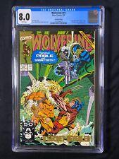 Wolverine #41 CGC 8.0 (1991) - Second Printing