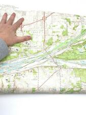Antique Sag Bridge, Illinois 1963 US Geological Survey Topographic Map – Cook Co