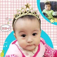 Rhinestone Crystal Tiara Hair Band Kid Girl Bridal Princess Crown Headband WE