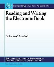 Reading and Writing the Electronic Book (Paperback or Softback)