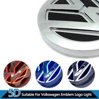 5D Styling Logo Led Volkswagen Hinten Vorne Abzeichen Emblem WEISS ROT BLAU