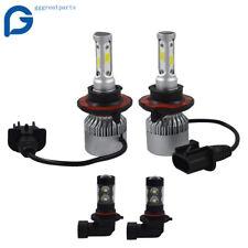 H13 9008 LED Headlight+9145 9140 Fog Lights Combo  for 2004-2014 Ford F-150 FREE