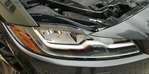 JAGUAR F-PACE HEADLIGHT LED XFR XF RIGHT HEADLAMP RH OEM 16 17 18 2016 2017 2018