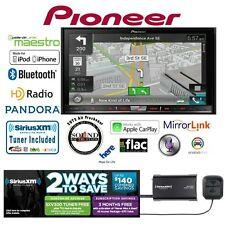 """Pioneer AVIC-7200NEX 7"""" GPS DVD Receiver w/ SiriusXM Satellite Radio SXV300v1"""