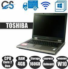 "TOSHIBA TECRA A9 15.4"" LAPTOP INTEL CORE 2 DUO 4GB RAM 160GB HDD W10"