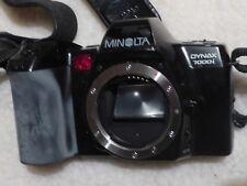 Minolta Dynax 7000i 35mm SLR Film Camera Body fully tested