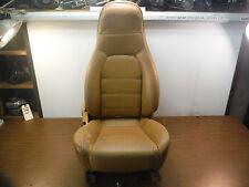 #4 Miatamecca Seat Passenger R/S Tan Leather 90-93 Miata MX5 NA0157100B OEM