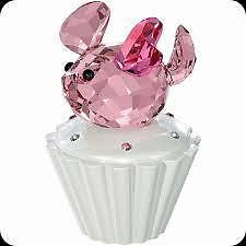 Swarovski  Cupcake box with mouse pink  New 1194042
