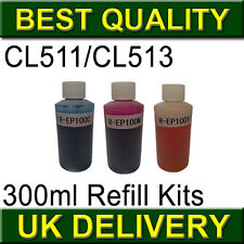 Color CL511 CL513 CL 511 513 Refill Kits for Canon