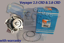 Chrysler Voyager 2.5 CRD , 2.8 CRD 2001 ->  WATER PUMP TOP QUALITY with WARRANTY
