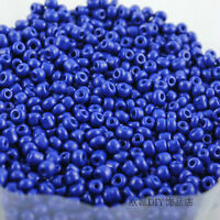 Jewelry Making Czech 1000pcs 15g 2mm Round Opaque Lot Colorful Glass Seed Beads