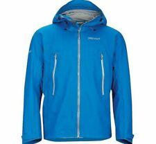 Marmot Red Star Rain Jacket Blue Men's Size Medium 100% Waterproof NWT $300