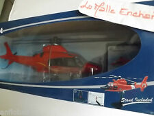 HÉLICOPTÈRE AGUSTA AW 109 ROUGE  - 1/43 NEW RAY NWR26103 IDEAL POMPIER